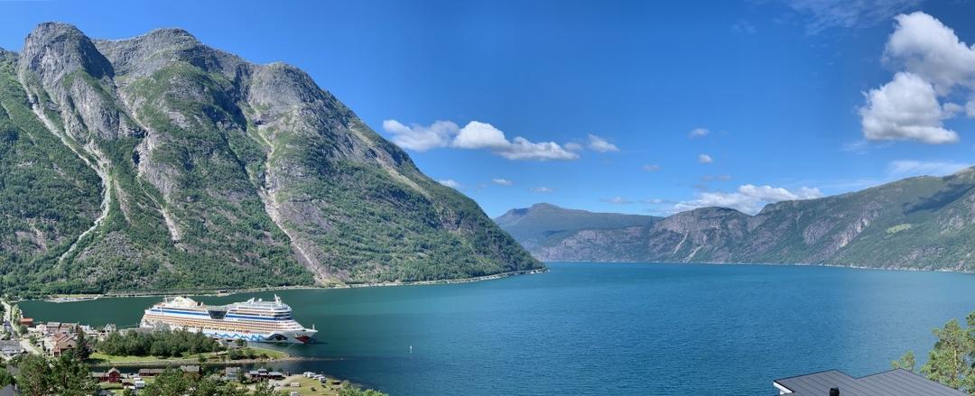 Norwegische Fjorde mit AIDAsol im Sommer 2019
